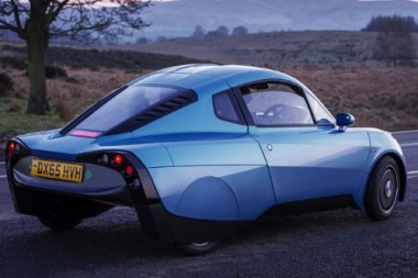 The automaker plans to sell the car as a service, charging customers a monthly fee package but maintaining ownership itself, as opposed to selling the vehicles outright. PHOTO: Riversimple