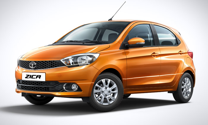 "Tata's 2016 Zica car's name is an acronym of ""Zippy Car."" PHTOTO: Tata Motors"
