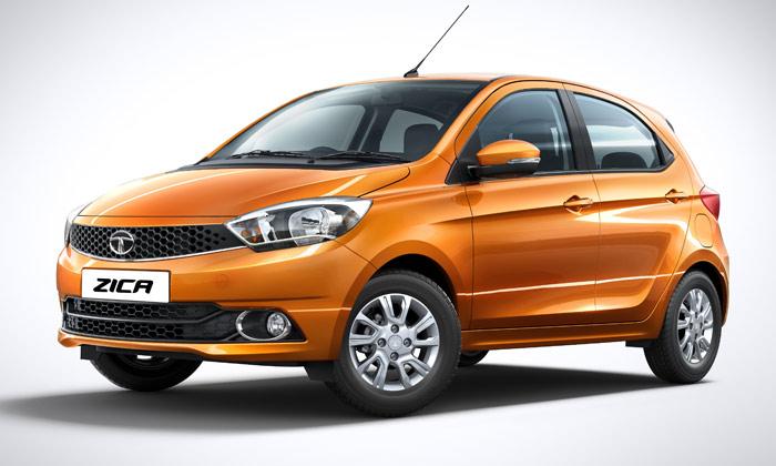 "Tata's 2016 Zica car's name is an acronym of ""Zippy Car."" PHTOTO: Tata Motors"
