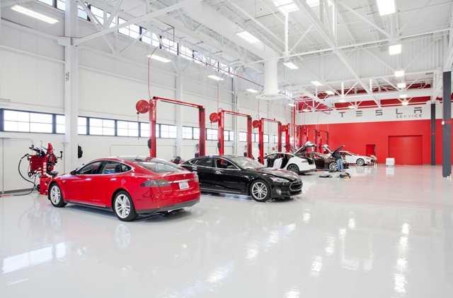 Tesla's results missed analyst expectations, but investors sent shares up regardless, responding to revised pricing of the company's much-anticipated economical Model 3. PHOTO: Tesla