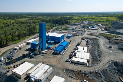 Lake Shore Gold's Timmins, Ont. mine. PHOTO: Lake Shore Gold