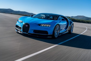 Amid the more conventional vehicle premieres, Bugatti unveiled its 1,500 HP Chiron supercar in Geneva this week. PHOTO: Bugatti