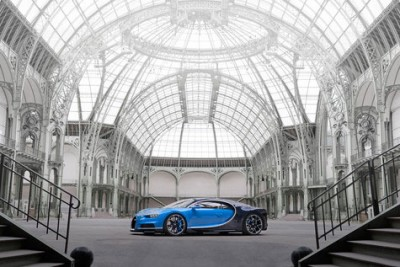 The new vehicle will sell for 2.3 million euro or US$2.5 million. PHOTO: Bugatti