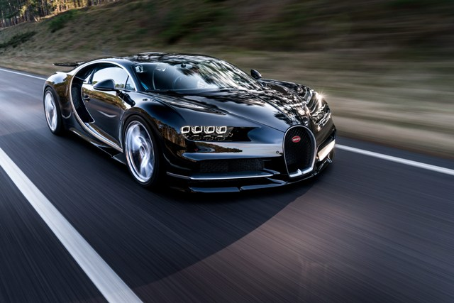 The French automaker's new supercar will take aim at claiming the land speed record for a productions vehicle. PHOTO: Bugatti