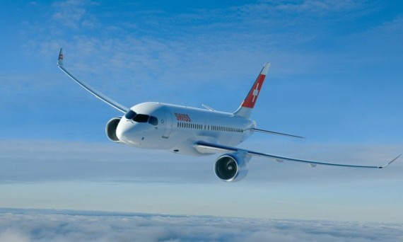The CS100 will begin a month of route-proving flights in Europe, demonstrating how the airliner will perform on a typical operation schedule. PHOTO: Bombardier