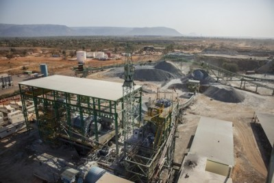 Endeavour's Tabakoto Gold Mine in Mali, nearby the