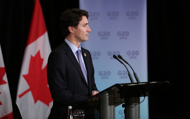 Prime Minister Justin Trudeau will present the keynote address at the Globe Conference in Vancouver March 2. PHOTO: Prime Minister of Canada, via Flickr