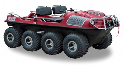Argo's new LX. With a top-end speed of nearly 40 km/h, the vehicle is the fastest Argo ever produced. PHOTO: Argo