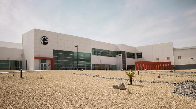 The power sports company's new facility in Juárez, Mexico. PHOTO: BRP