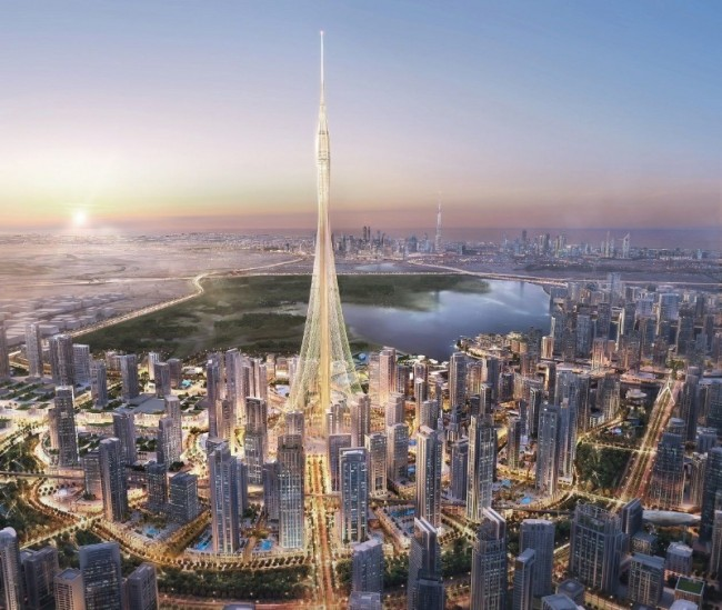 Artist conception of the Tower at Dubai Creek Harbour. PHOTO: Emaar Properties