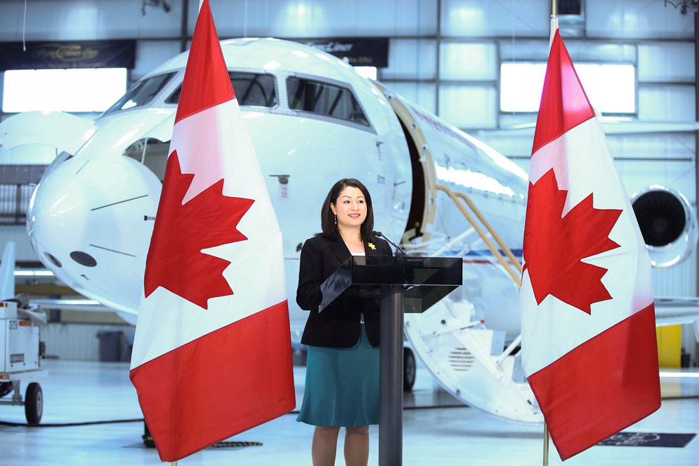 Maryam Monsef, Member of Parliament for Peterborough—Kawartha and Minister of Democratic Institutions