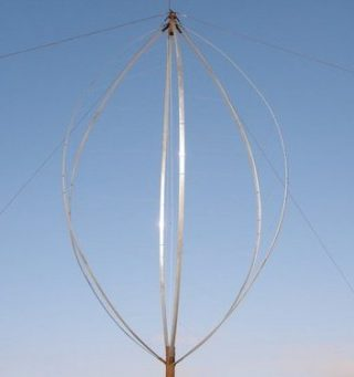 LUX Wind Turbines' six-bladed vertical axis turbine. The company is currently seeking up to $800,000 in funding through new equity crowdfunding sources. PHOTO: LUX