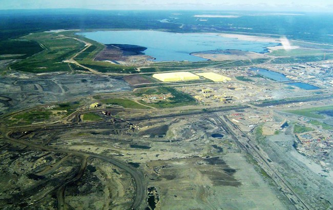 Alberta's oilsands has long been the centre of a debate over the environmental impacts of resource extraction