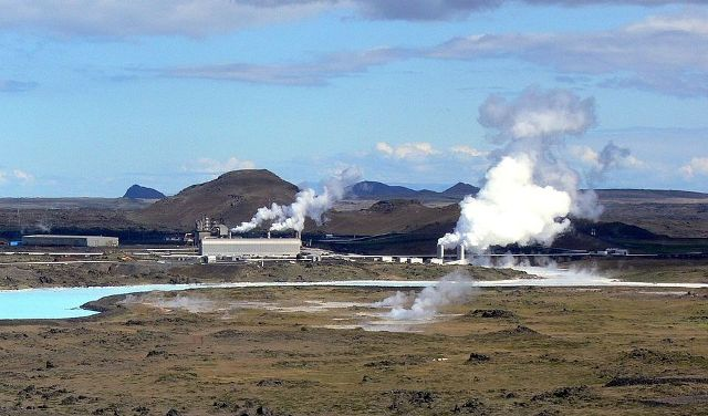 The Reykjanes Geothermal Power Plant in Iceland. Alterra owns a 98.5 per cent stake in the project. PHOTO: Christian Bickel, via Wikimedia Commons