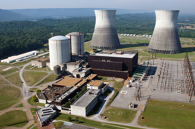 The Bellefonte Nuclear Plant, which has been the source of controversy for four decades. PHOTO: Tennessee Valley Authority