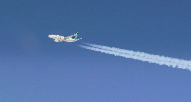 WestJet has improved the fuel efficiency of its aircraft by almost 50 per cent over the past 15 years. Using biofuels, it intends to continue scaling back its emissions. PHOTO: Shawn, via Wikimedia Commons