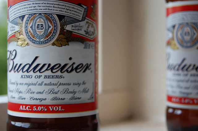 Though AB InBev produces several non-alcoholic beers for the Canadian market, the new brew will be the first under the Budweiser brand. PHOTO: Sam, via Flickr