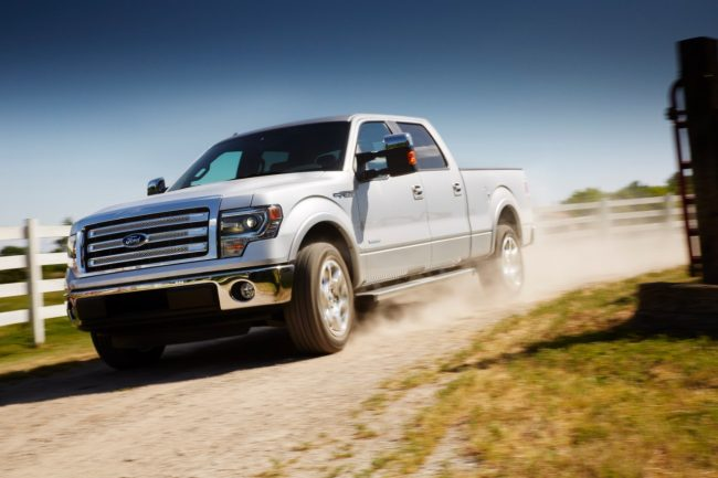 Ford is recalling nearly 50,000 trucks in Canada as a result of concerns about brake fluid leaks. PHOTO Ford
