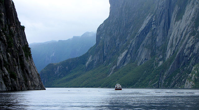 The panel expressed concerns that among other environmental issues, fracking along Newfoundland's west coast could threaten Gros Morne National Park's status as a UNESCO world heritage site. PHOTO: D. Gordon E. Robertson, via Wikimedia Commons