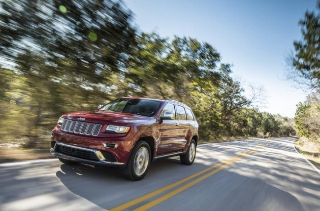 The 2015 Jeep Grand Cherokee mid-size SUV. PHOTO: FCA US LLC
