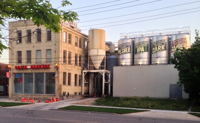 Waterloo's Ont.'s Brick Brewing Co. is among the recipients of the new federal and provincal funding for craft brewers. PHOTO: JustSomePics, via Wikimedia Commons