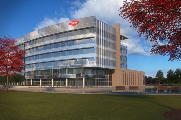 Dow Chemical corporate headquarters in Midland, Mich. PHOTO: Dow Chemical