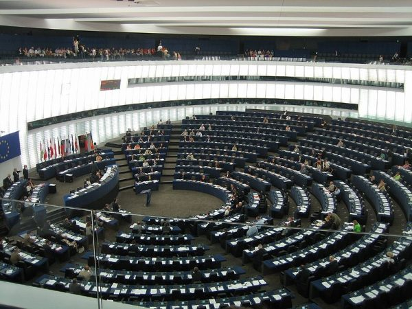 Things are abouot to get very busy inside the European Parliament, pictured here. PHOTO: JLogan