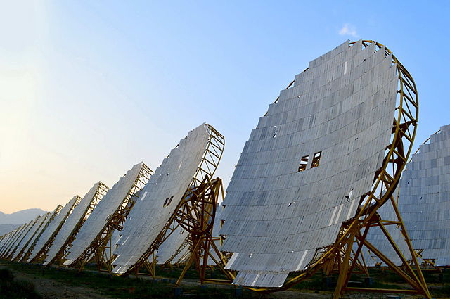 India has invested heavily in bolstering its renewable energy generation in recent years, focusing on solar energy in particular. The India One Solar Thermal Power Plant pictured. PHOTO: Bkwcreator, via Wikimedia Commons