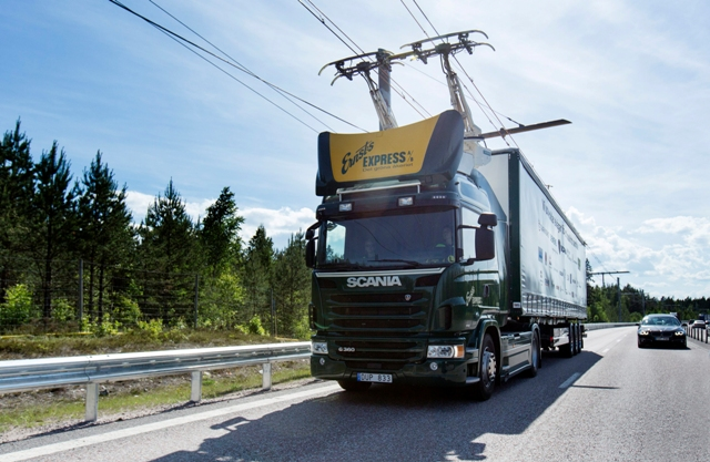 PHOTO: Siemens/Scania CV AB