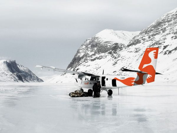 Twin Otter plane operating in Canada's Arctic. PHOTO: Viking Air Ltd.