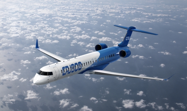 Bomabrdier's CRJ900. PHOTO: Bombardier