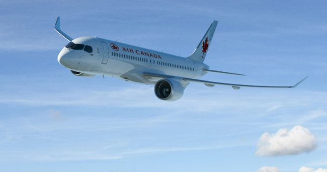 Following up a letter of intent, the Canadian airline has placed a firm order for 45 CS100s.PHOTO: Bombardier