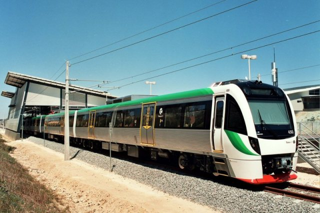 Bombardier's B Series Electric unit. The company will build 10 of the vehicles for the  Western Australia's Public Transport Authority. PHOTO: Bombardier