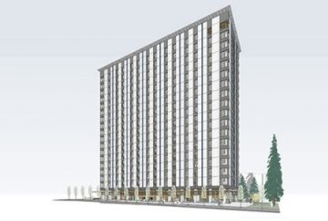 Concept design of the new wooden residence on the University of British Columbia campus. PHOTO: UBC/Acton Ostry Architects