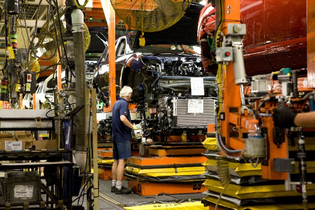 Production at GM's Cami Assembly in Ingersoll, Ont. PHOTO: GM