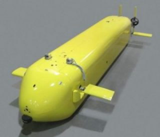 General Motors and U.S. Navy are collaborating on hydrogen fuel cell-powered unmanned undersea vehicle. PHOTO: GM