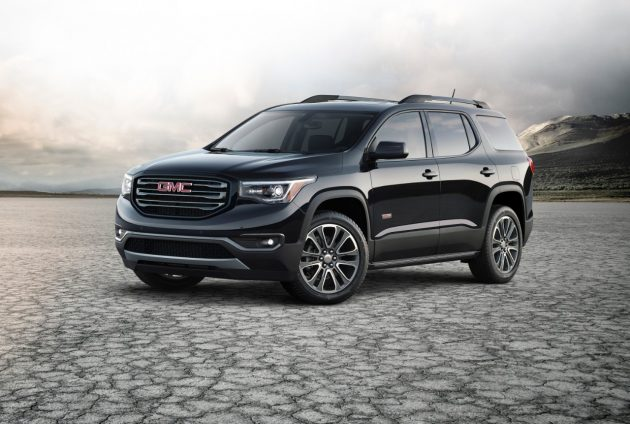 The 2017 GMC Acadia SUV. PHOTO: General Motors Corp.