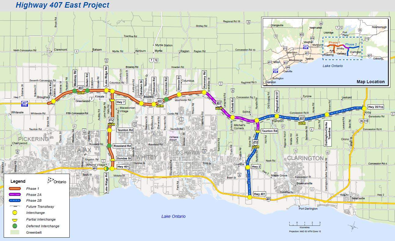 First stretch of Ontarios 1B Highway 407 East project opens
