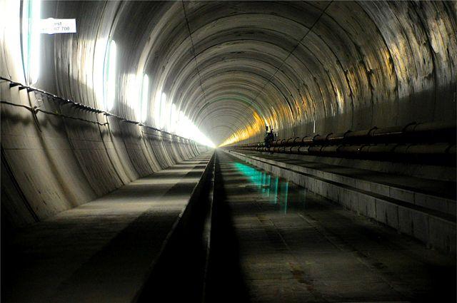 swiss inaugurate worlds longest deepest rail tunnel