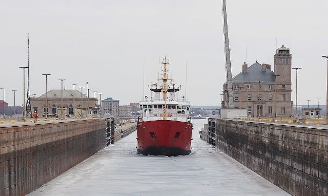 The Canadian Coast Guard Ship (CCSG) Samuel Risley is an icebreaker operating in the Great Lakes. It was launched in 1985