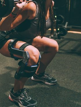 The East Coast company plans to release a civilian version of its knee brace this fall. PHOTO: Spring Loaded