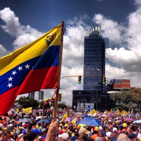 Venezuela has faced increasing upheaval in recent months as U.S. companies pull out of the country where  protests  and goods shortages have become commonplace. PHOTO: durdaneta, via Flickr