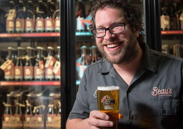 Beau's CEO Steve Beauchesne started the Ontario craft brewery  in 2006 with his father, Tim Beauchesne. PHOTO: Beau's
