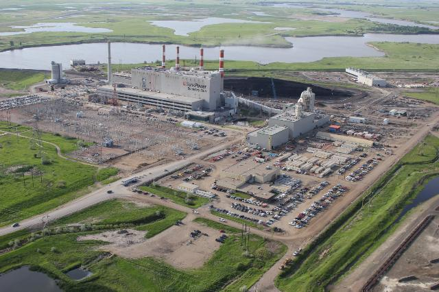 SaskPower's Boundary Dam 3 project in Estevan, Sask. PHOTO: SaskPower