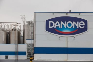France-based Danone is one of the largest food companies in the world. PHOTO: Danone