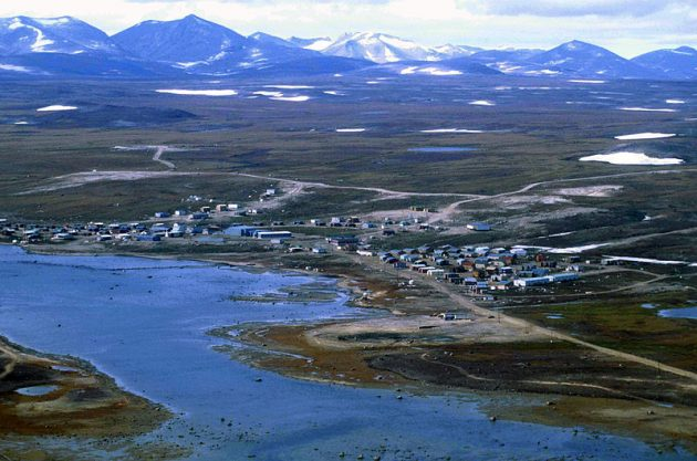 The community of Clyde River, Nunavut. Photo: Ansgar Walk