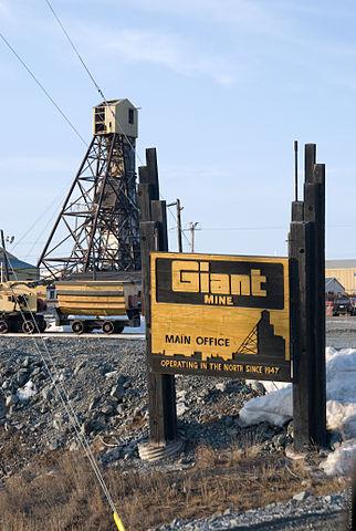 Site of Giant Mine outside Yellowknife in 2008. PHOTO: Marke Clinger, via Flickr