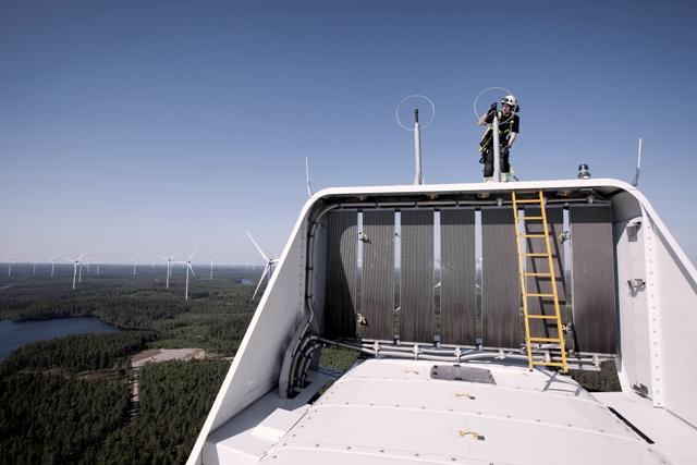 The 200 MW U.S. wind project operates 100 Vestas V110 turbines   Sweden's Lemnhult wind farm pictired   PHOTO: Vestas Wind Systems A/S