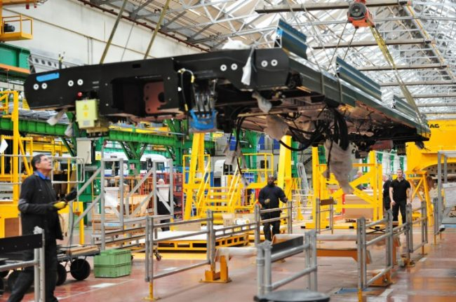 The investment will safeguard 1,000 jobs at the Canadian plane and train maker's Derby, U.K. manufacturing facility. PHOTO: Bombardier
