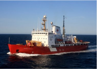 The Pierre Radisson is a mid-sized icebreaker active in the the Gulf of St. Lawrence. PHOTO: Government of Canada